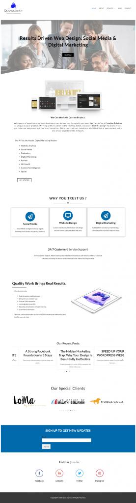 Quan Agency – We Will Ensure You The Best Quality - quanagency.com